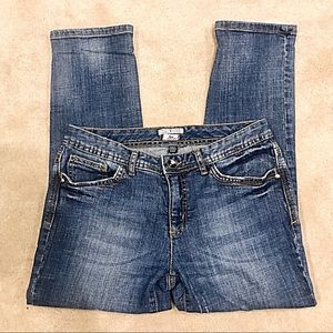 Tommy Hilfiger Low Rise and Crop Jeans Size 4
